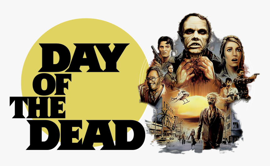 Day Of The Dead Image - Day Of The Dead 1985 Movie Poster, HD Png Download, Free Download