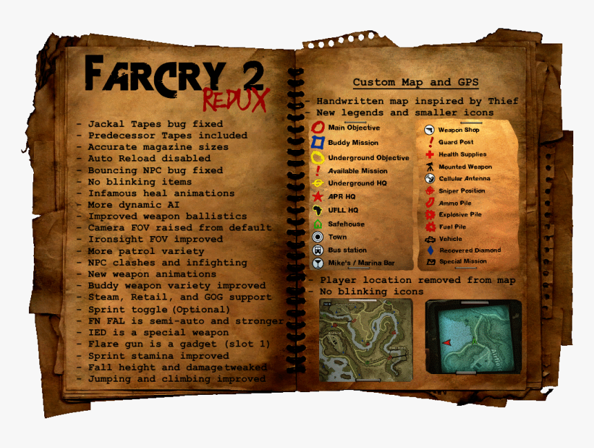 Far Cry 2 Redux - Far Cry 2, HD Png Download, Free Download