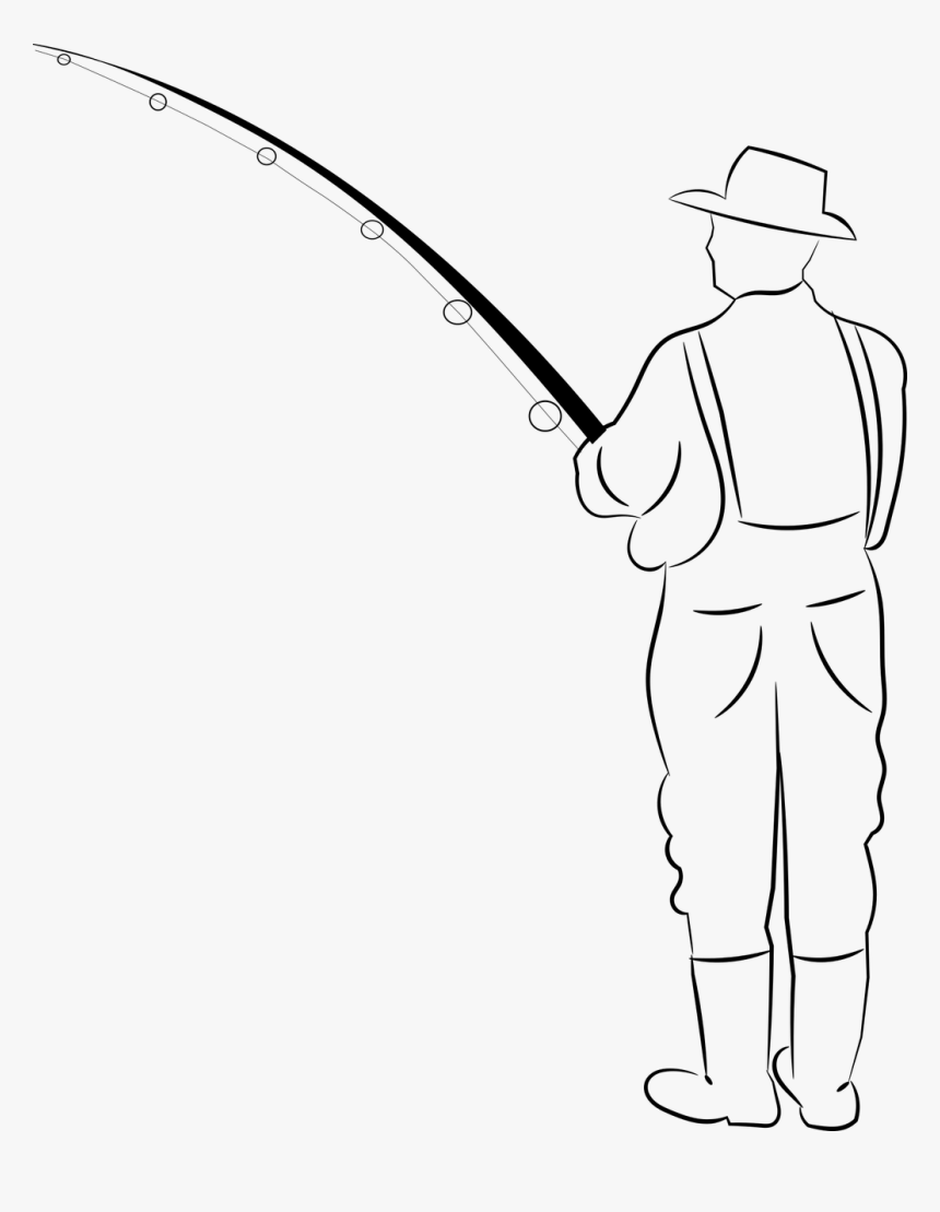 Cast A Fishing Line, HD Png Download, Free Download