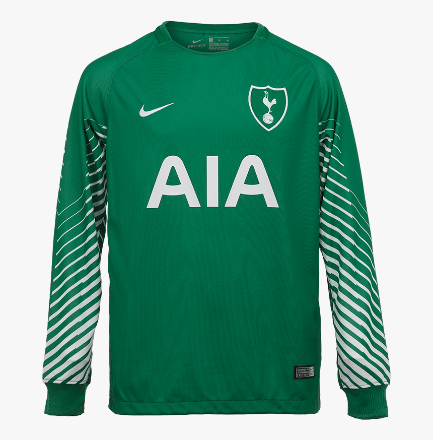 Spurs Youth Away Goalkeeper Shirt 2017 2018 Tottenham Away Kit Leaked Hd Png Download Kindpng