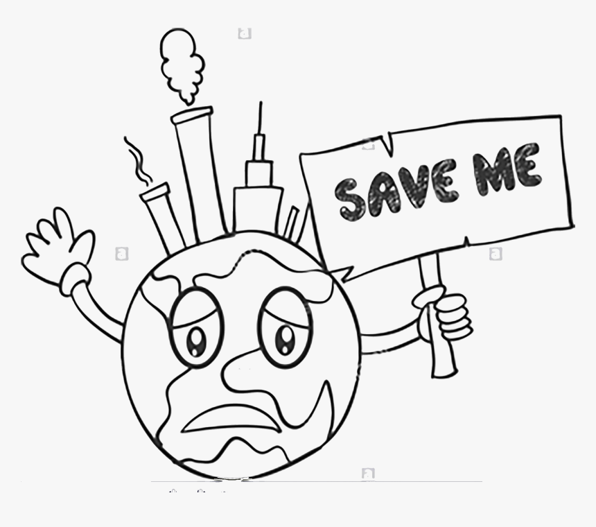 Transparent Save Earth Png Earth Save Me Draw Png Download