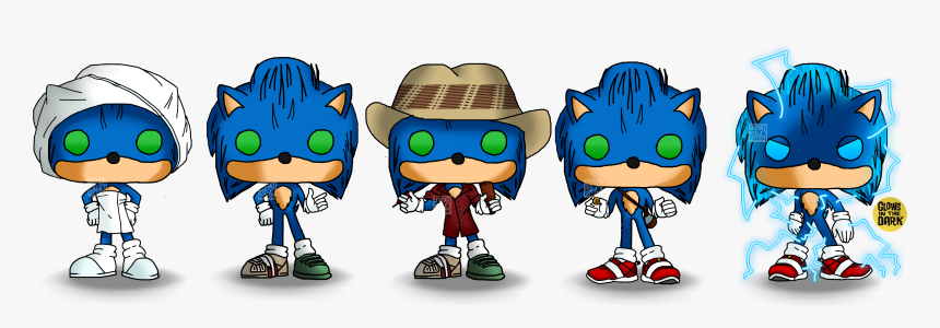 Sonic Movie Funko Pop Hd Png Download Kindpng