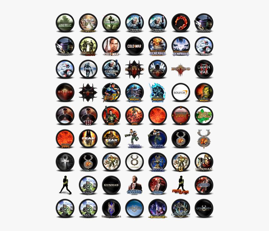Transparent Gaming Icon Png - Human Organs Icon Set, Png Download, Free Download