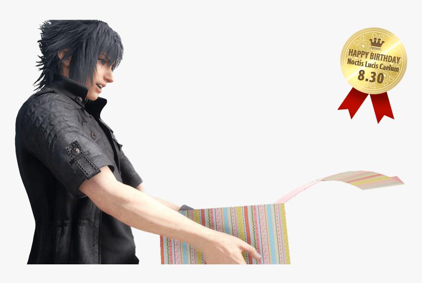 Happy Birthday Ffxv , Png Download - Final Fantasy Lightning X Noctis, Transparent Png, Free Download