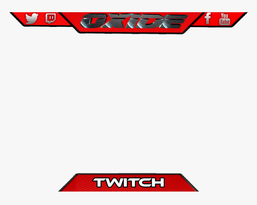 Overlay Template Twitch Overlay Blank Png , Png Download - Overlay Template Twitch Overlay Blank Png, Transparent Png, Free Download