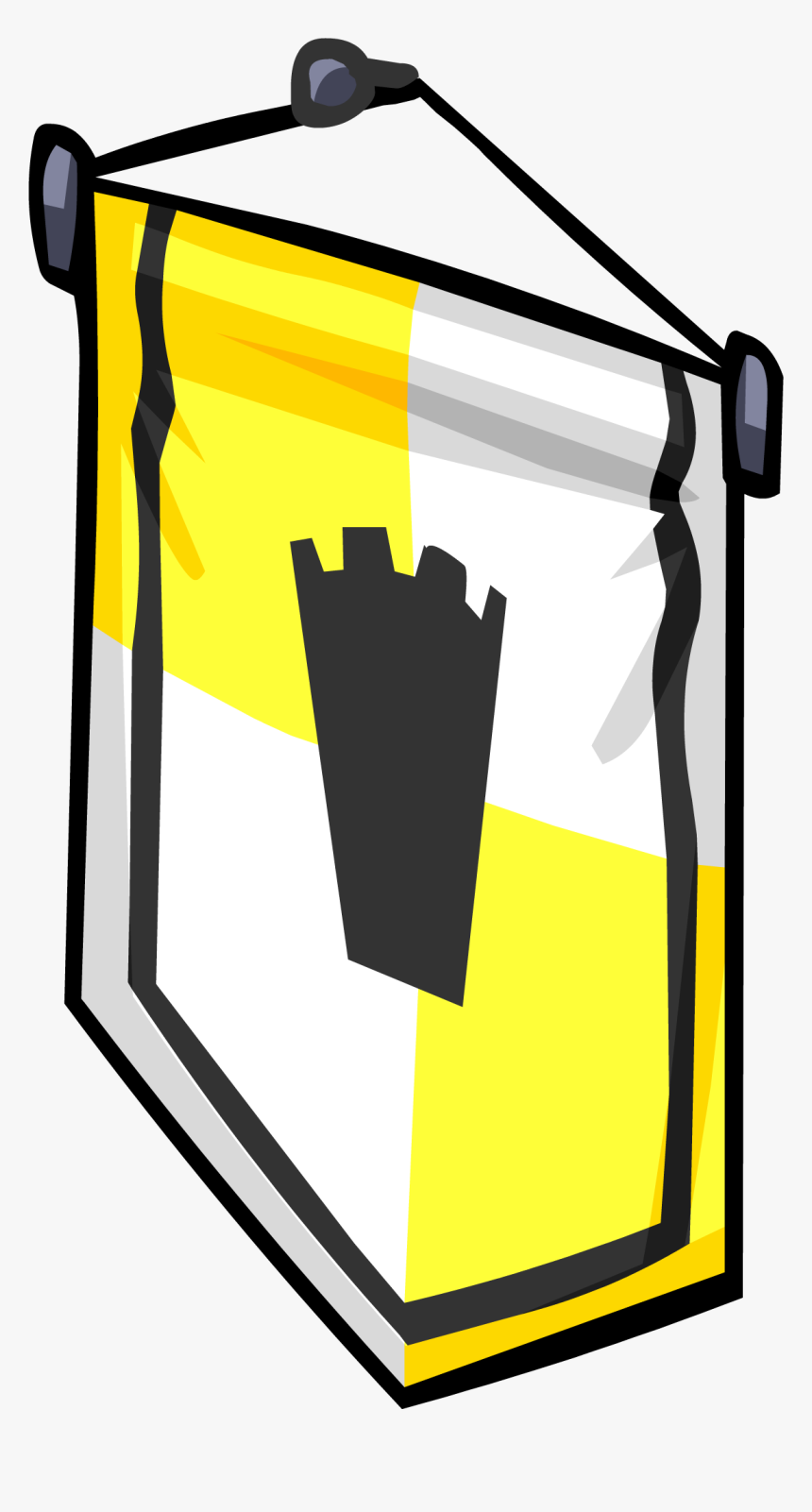 Ye Olde Yellow Banner Sprite - Portable Network Graphics, HD Png Download, Free Download