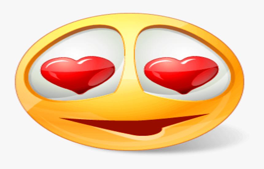 Emoji Clipart Love - Love Emoji Png Icon, Transparent Png, Free Download