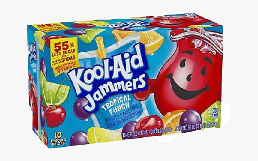 Tropical Punch Kool Aid Jammers, HD Png Download, Free Download