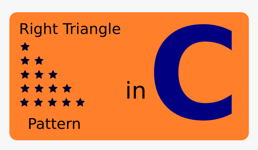 How To Write The Right Angle Triangle Pattern Using - Council Of Europe, HD Png Download, Free Download