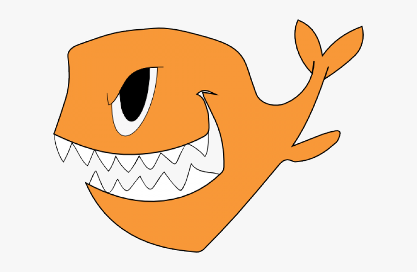 Evil Fish Clipart, HD Png Download, Free Download