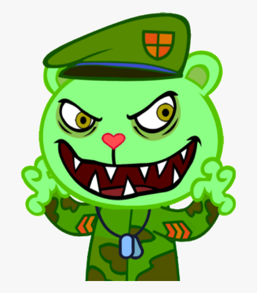 Cozyforest - Happy Tree Friends Fliqpy, HD Png Download, Free Download