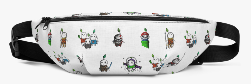 Pattern Pocket Mockup Front Default White - Transparent Supreme Fanny Pack, HD Png Download, Free Download