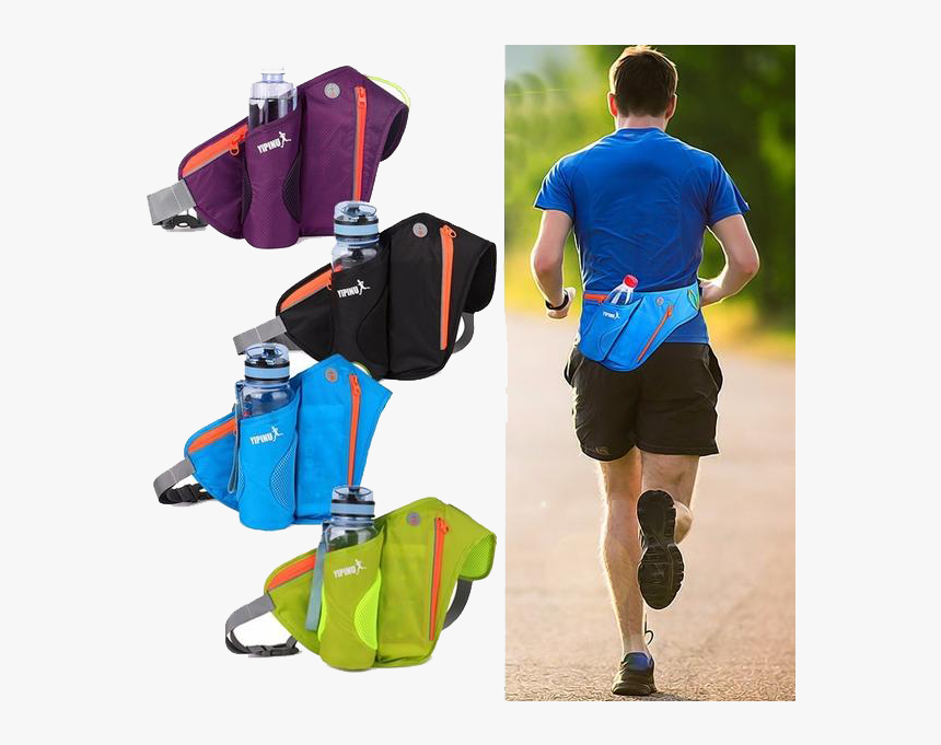 Transparent Running Water Png - Fanny Pack Running, Png Download, Free Download