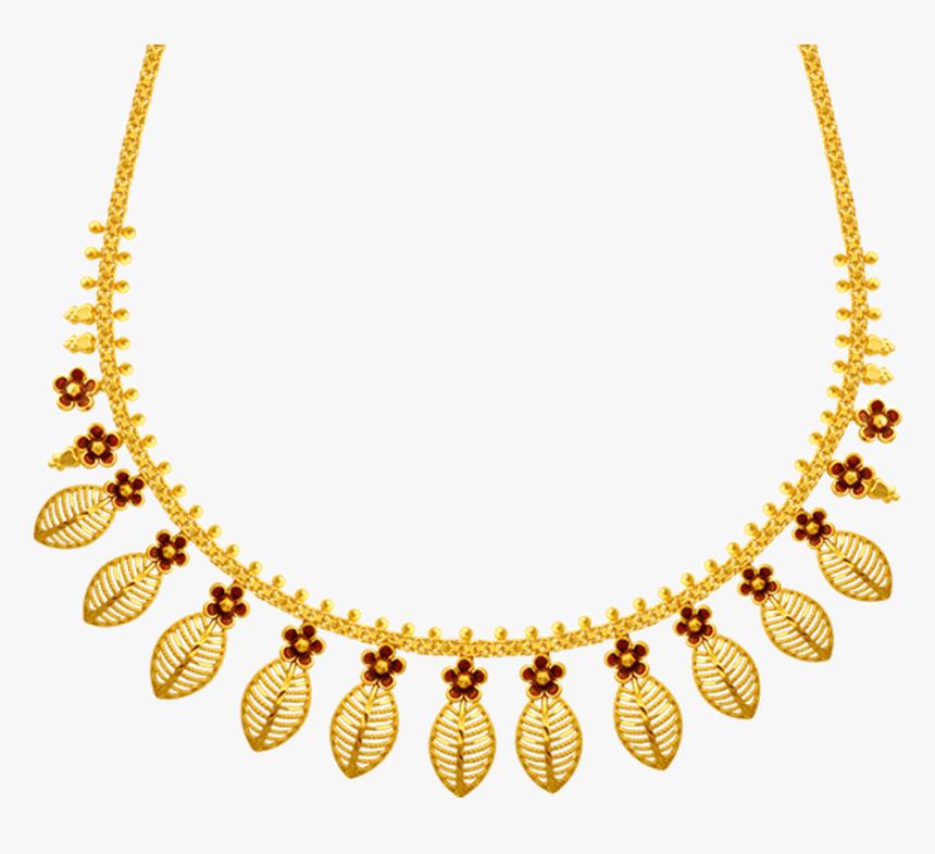 22k Gold Necklace Png Free Download - Necklace, Transparent Png, Free Download