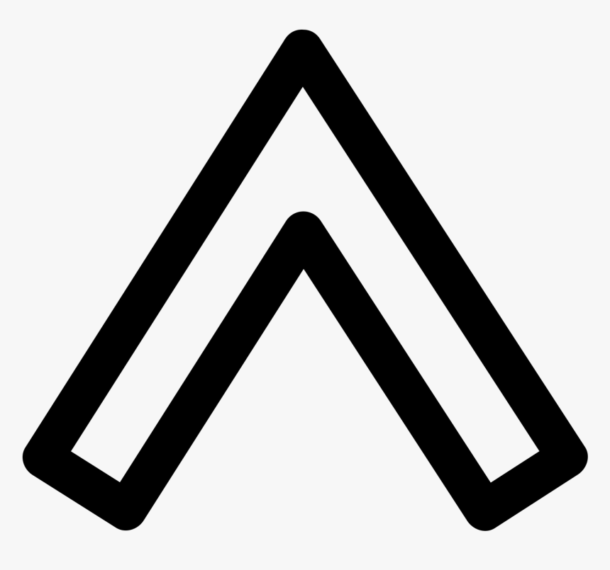 Black Arrow Png - Arrow Up White Png, Transparent Png, Free Download