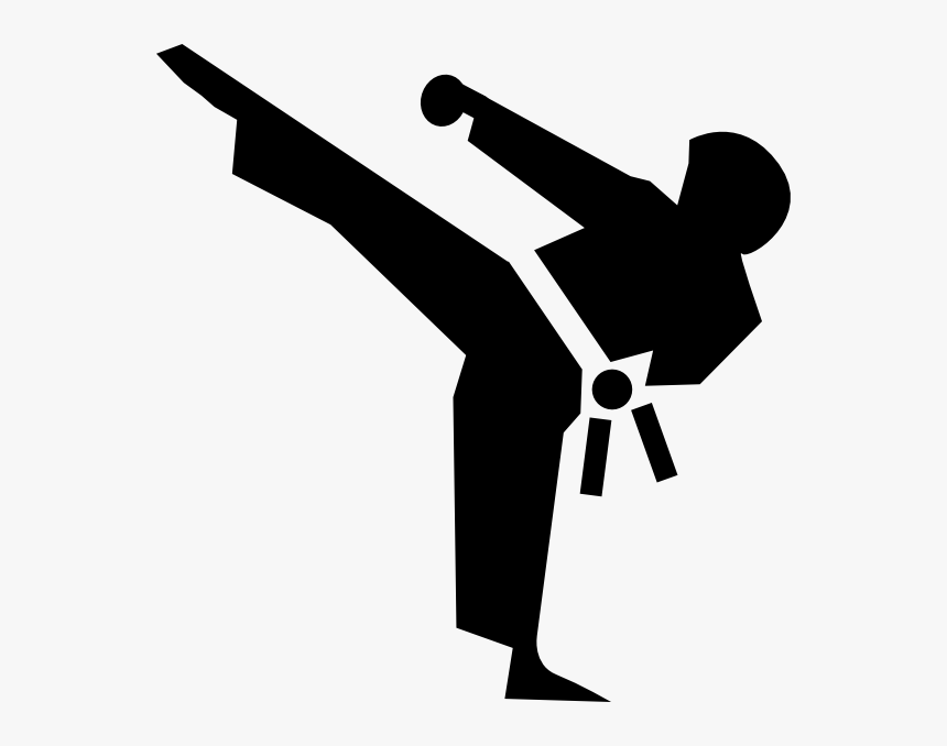 Karate Icon Svg Clip Arts - Martial Arts Clipart, HD Png Download, Free Download