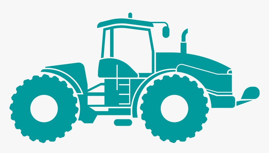 Agricultural Machinery Agriculture Farm Clip Art - Farm Tractor Tractor Png, Transparent Png, Free Download