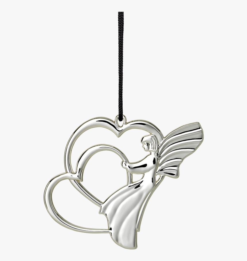 Angel Heart H7 Silver Plated Karen Blixen - Rosendahl Ängelhjärta Ole Kortzau, HD Png Download, Free Download