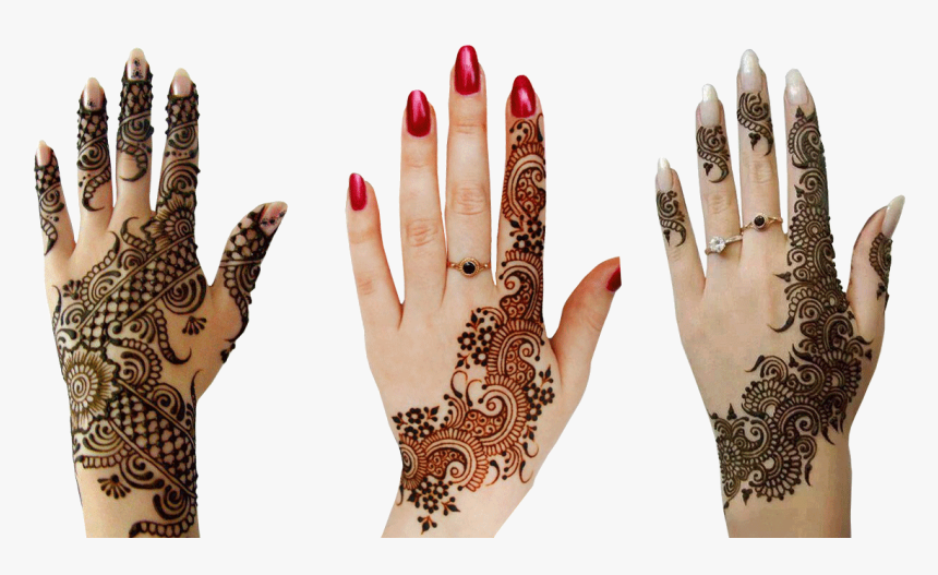 Transparent Henna Pattern Png - Henna Hand Designs Png, Png Download, Free Download