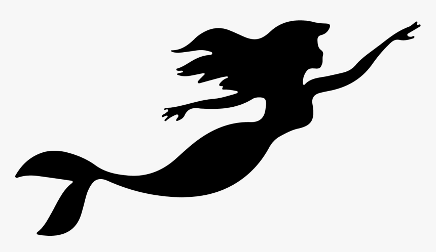 Decal Png Download Little Mermaid Swimming Transparent Png Kindpng