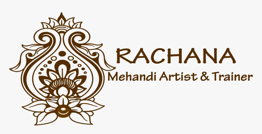 Transparent Mehndi Design Png - Rachna Name Mehndi Design, Png Download, Free Download