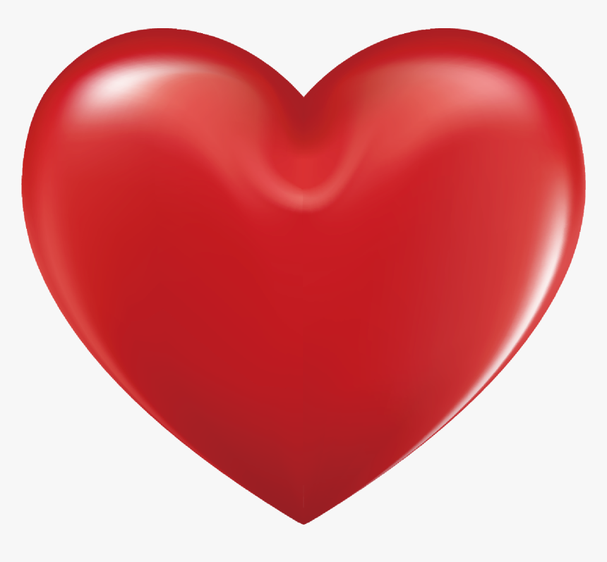 Valentines Day Png Images - Red Heart Emoji Vector, Transparent Png, Free Download
