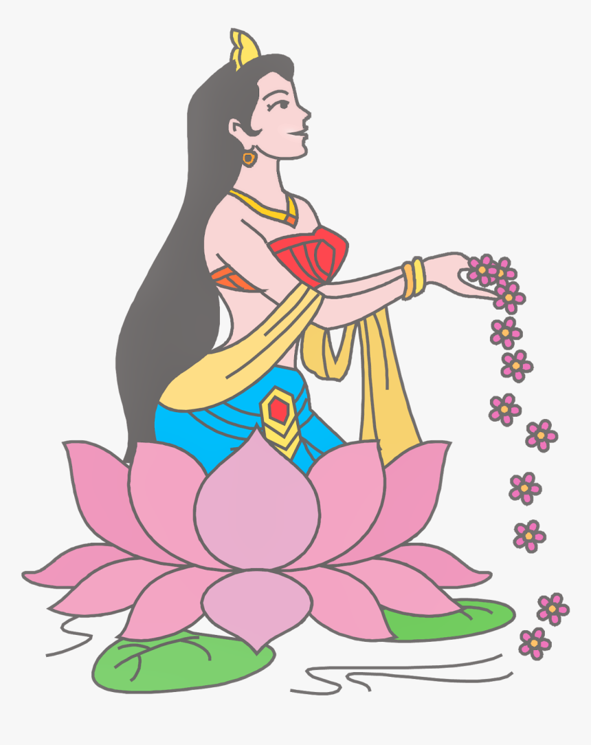 Transparent Namaste Png - Welcome Girl Clipart Png, Png Download, Free Download