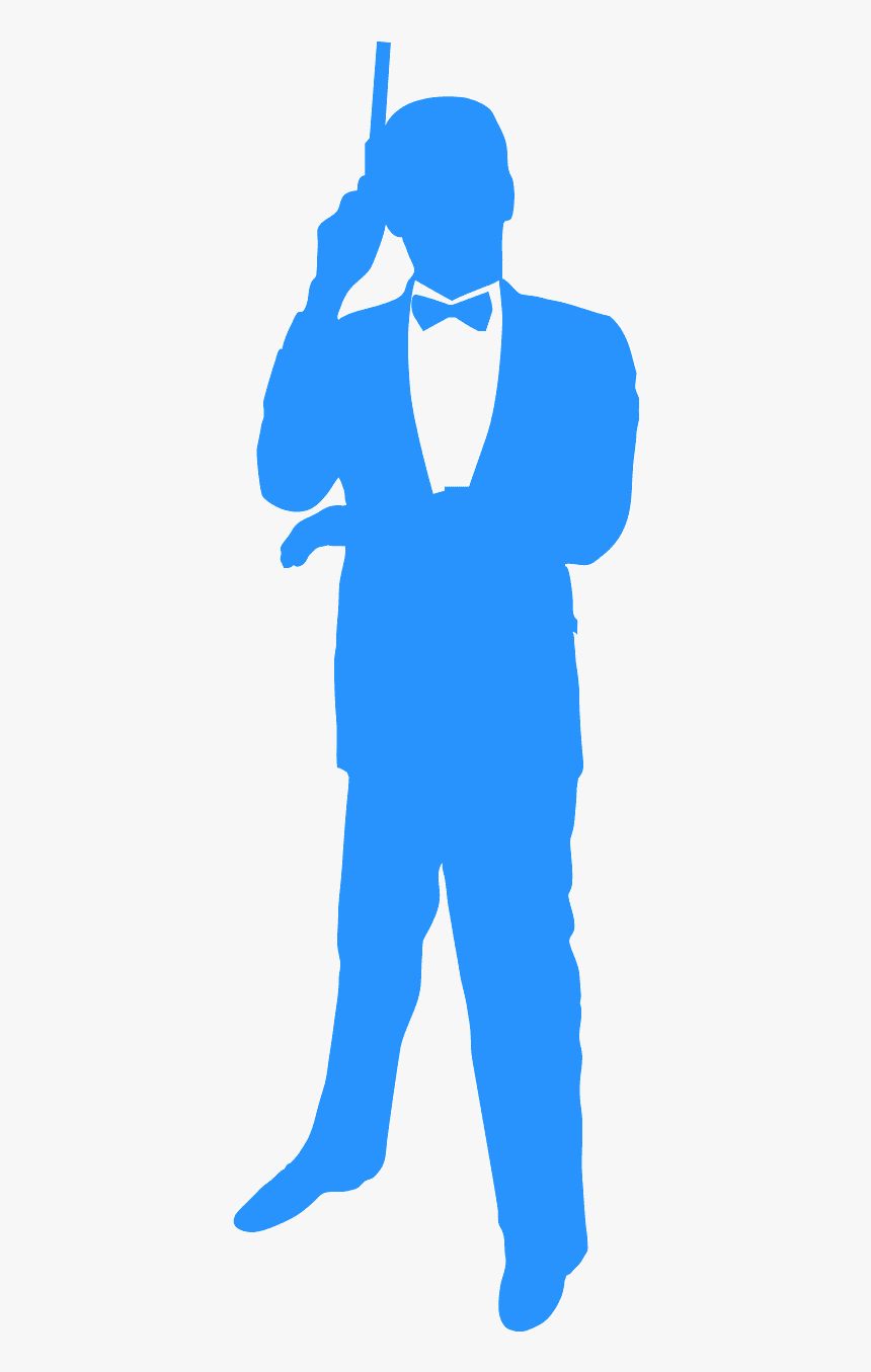 Silhouette James Bond, HD Png Download, Free Download