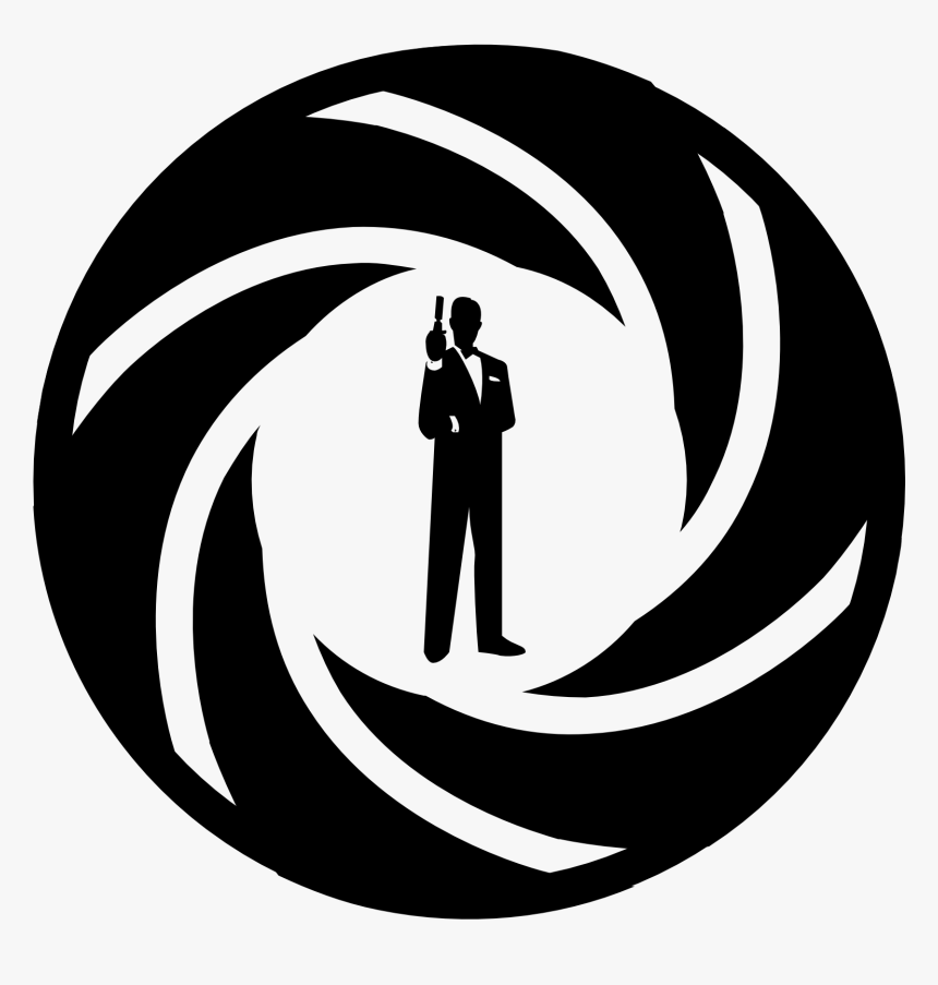 Transparent James Bond Silhouette Png - James Bond Icon Png, Png Download, Free Download