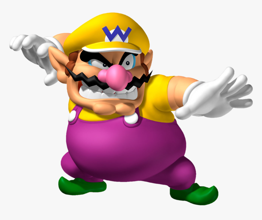 Wario Mario Bros Png, Transparent Png, Free Download