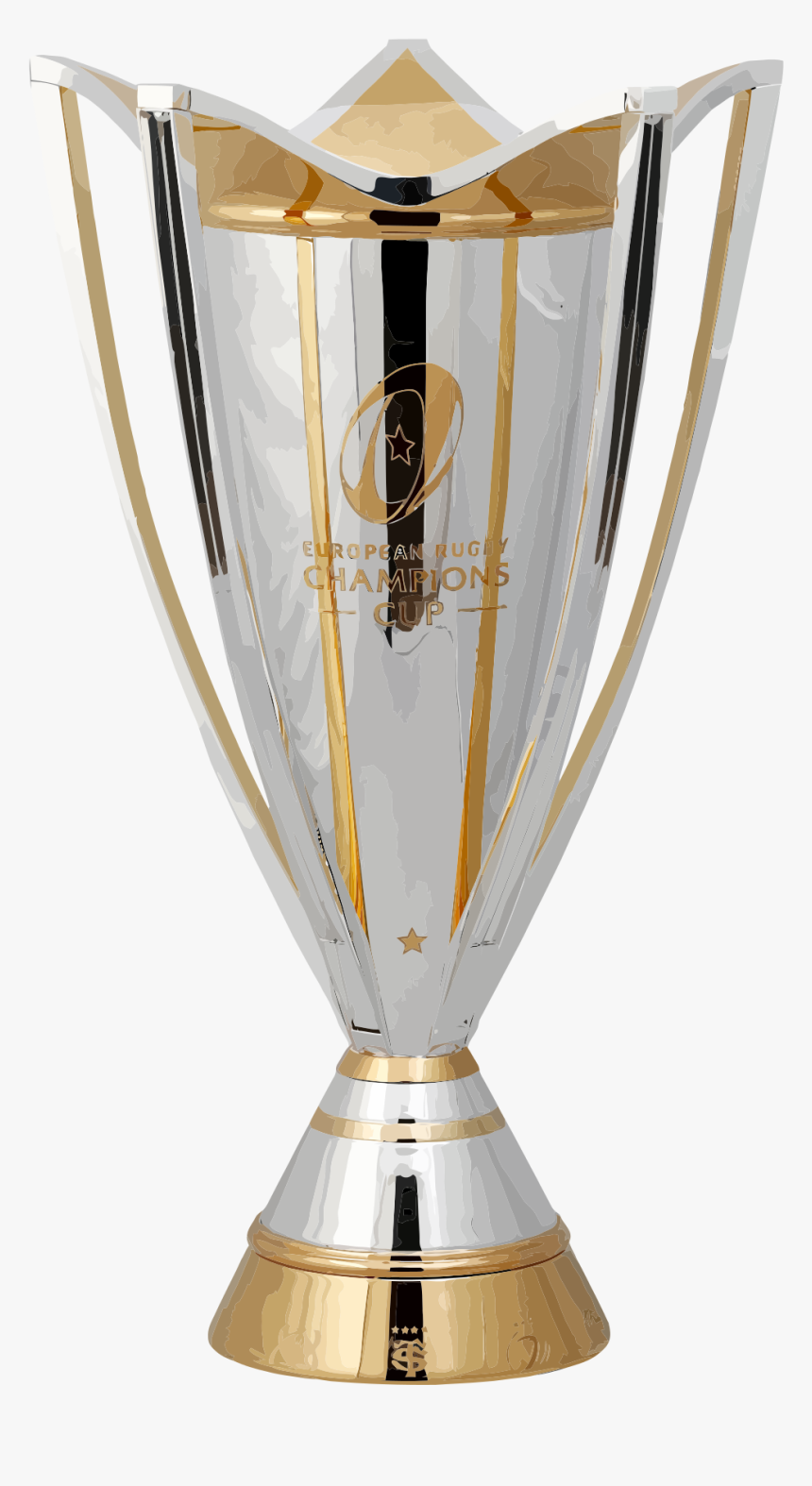 European Rugby Champions Cup Trophy, HD Png Download, Free Download