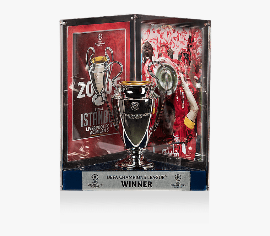 Liverpool 5 Champions League Trophies, HD Png Download, Free Download