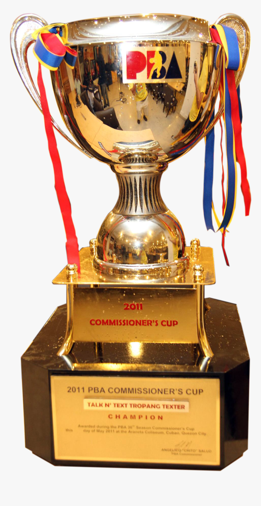 Trophy Png Picture - Pba Commissioner's Cup Trophy, Transparent Png, Free Download