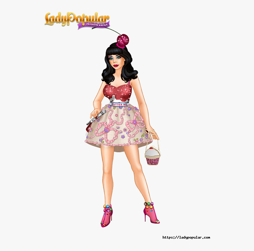 Lady Popular Fashion Arena Apk, HD Png Download, Free Download