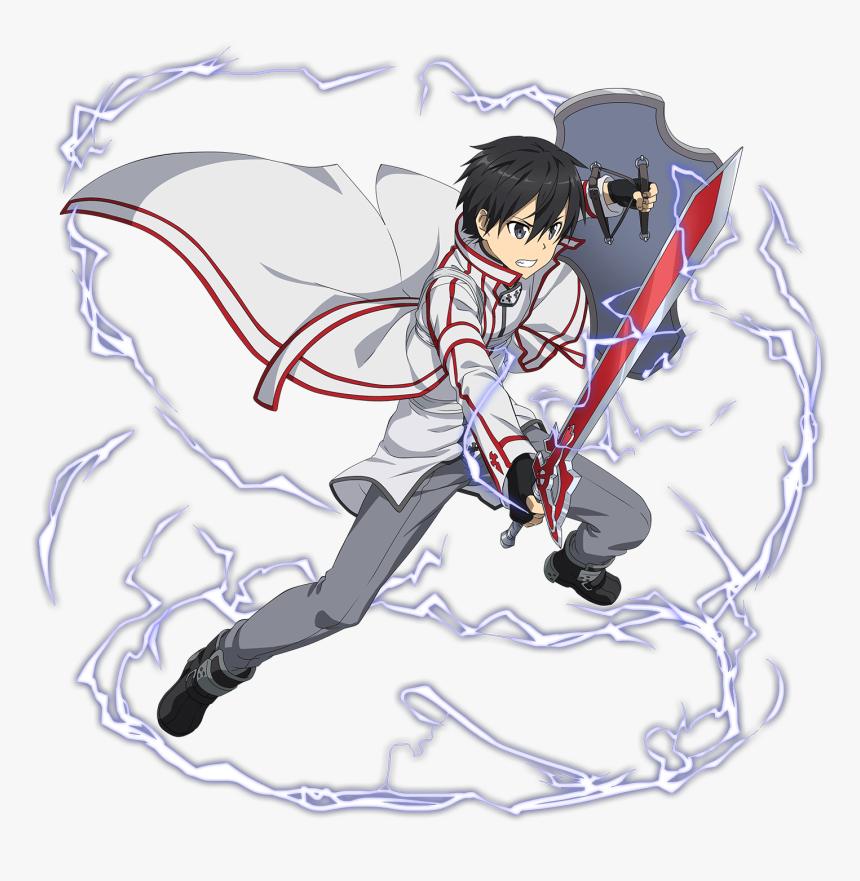 Swordsman Drawing Sword Art Online Kirito - Sword Art Online Kirito Kob, HD Png Download, Free Download