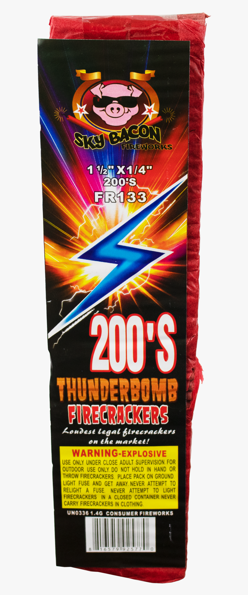 Thunderbomb Firecrackers 200s - Multimedia Software, HD Png Download, Free Download