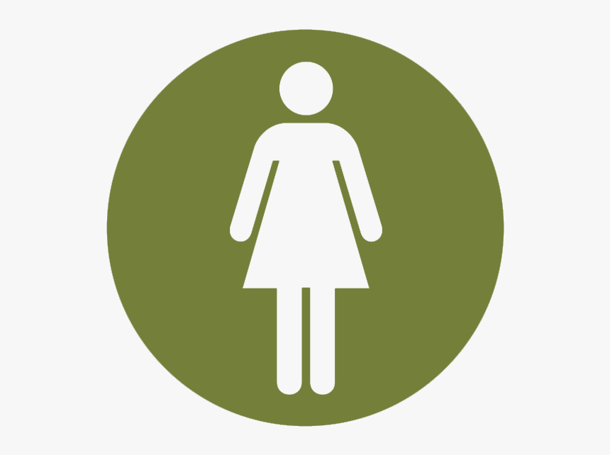 Toilet Sign For Female, HD Png Download, Free Download