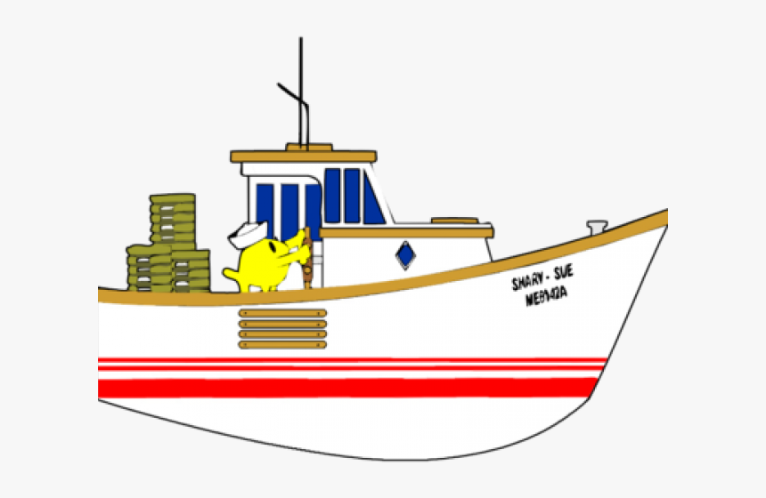 Fishing Boat Clipart Transparent Background Fishing Boats Clip Art Hd Png Download Kindpng