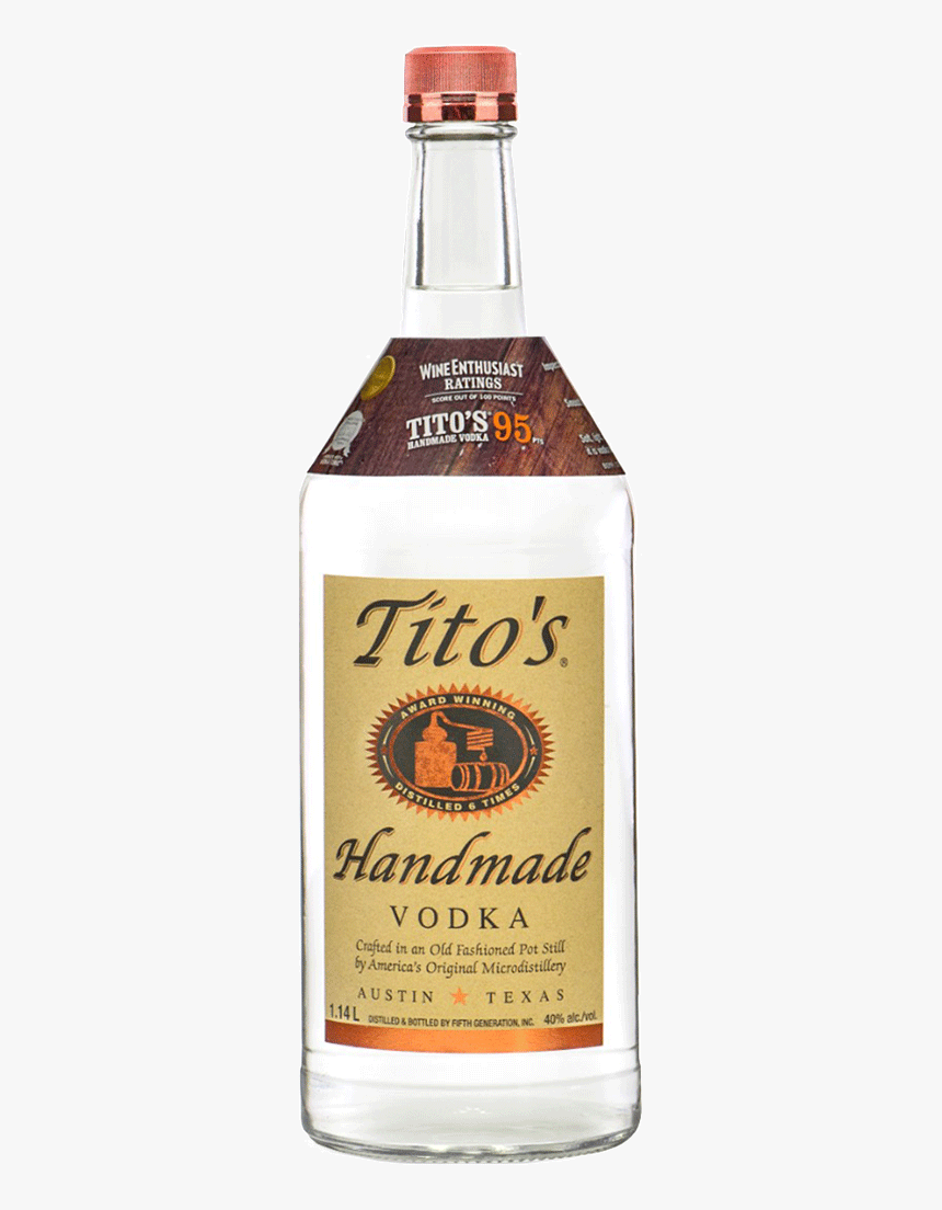 "Tito""s Handmade Vodka - Tito's Handmade Vodka 18 Age, HD Png Download, Free Download"
