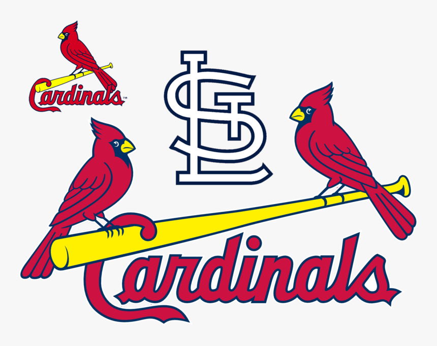 St Louis Cardinals Transparent Logo Large, HD Png Download, Free Download