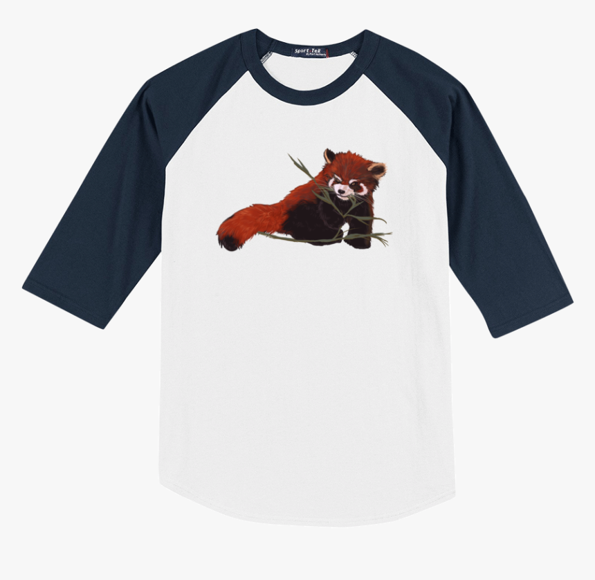 Red Panda Love Baseball Tee - I M Not A Player I Just Crush Alot Shirt, HD Png Download, Free Download