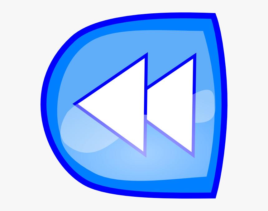 Forward Blue Button Clip Art At Clker - Gambar Tanda Kembali, HD Png Download, Free Download