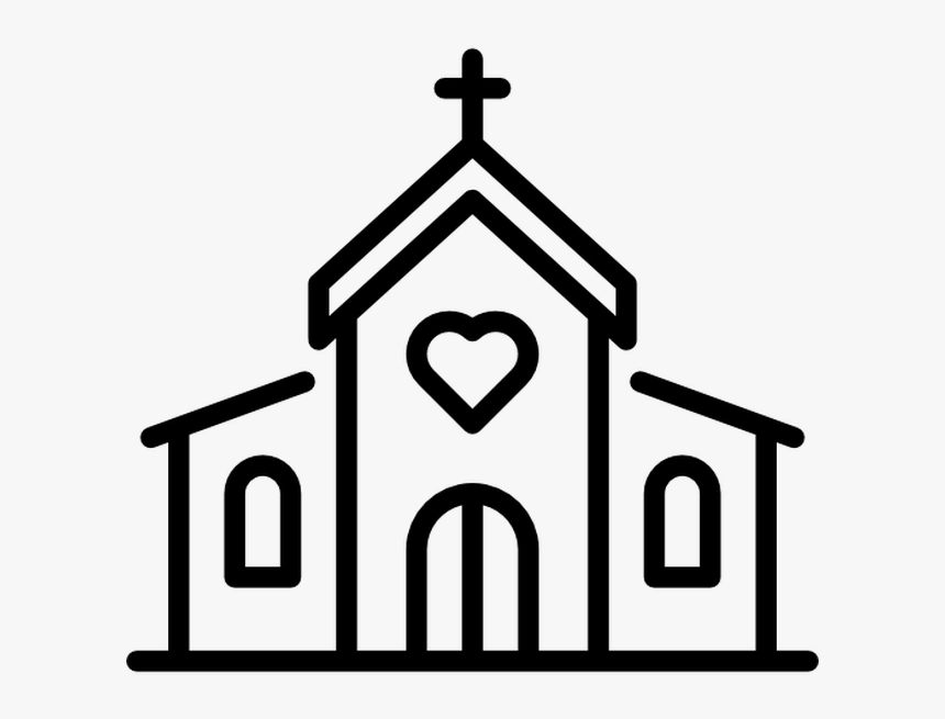 Free Church Building Vector, HD Png Download, Free Download