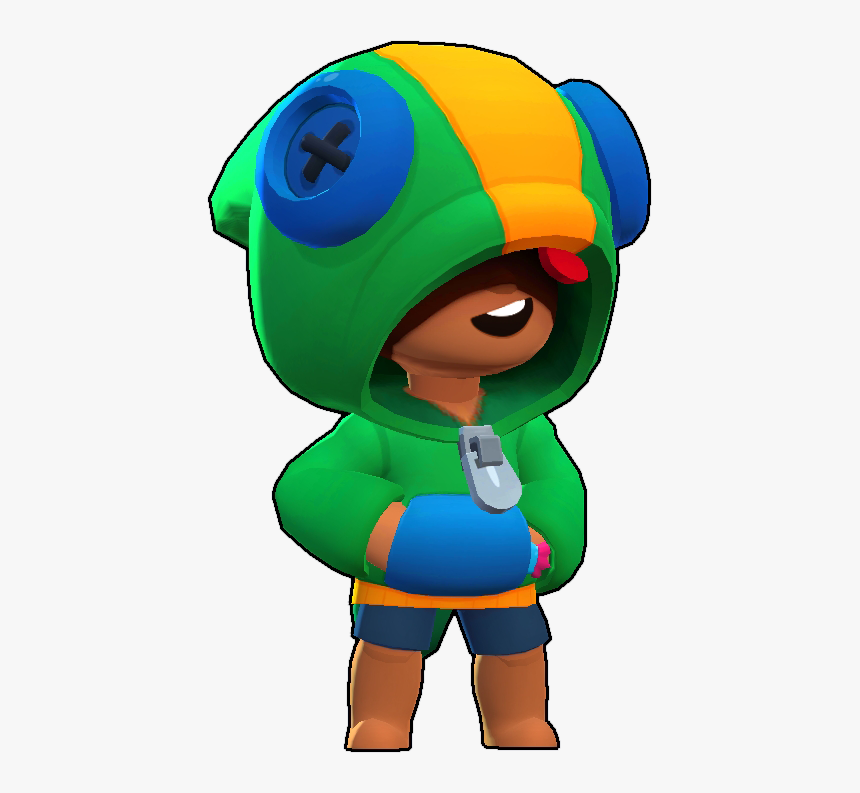 Brawl Stars Wiki - Leon Resmi Brawl Stars, HD Png Download, Free Download