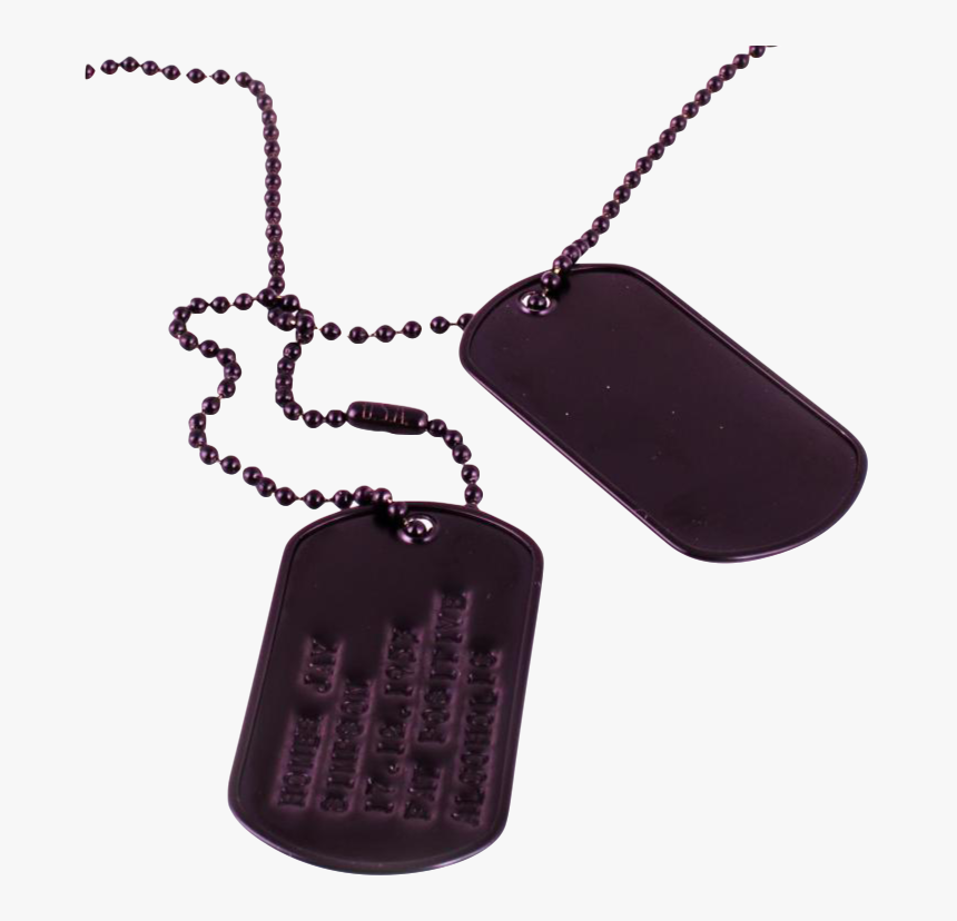 [carbon Dog Tags] - Pendant, HD Png Download, Free Download