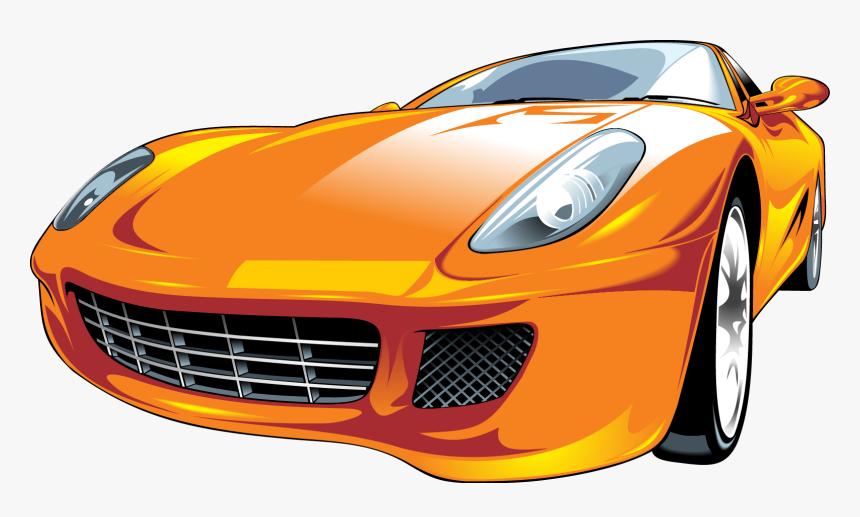 Sports Car Car Vector Png, Transparent Png, Free Download