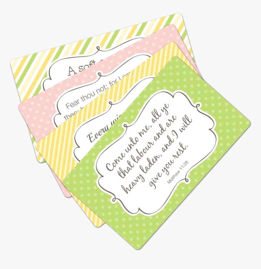 Printable Scripture Cards For Moms - Printable Scripture Cards Moms, HD Png Download, Free Download