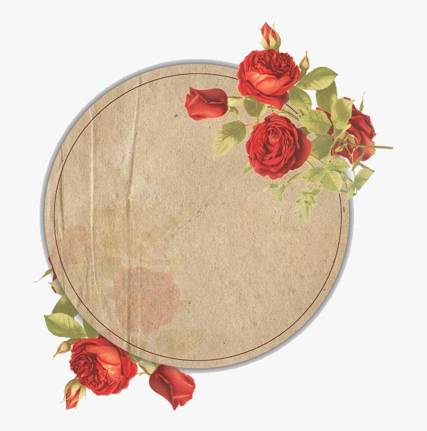Vintage Floral Frame Png File - Vintage Floral Frame Png, Transparent Png, Free Download
