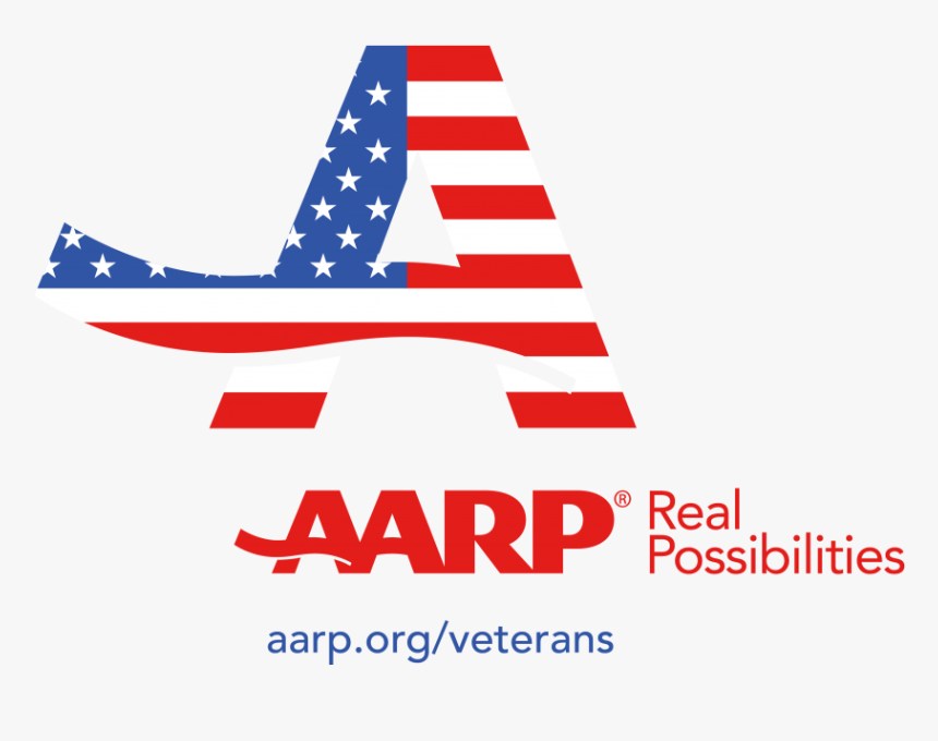 Aarp Real Possibilities Veterans Color Logo - Graphic Design, HD Png Download, Free Download