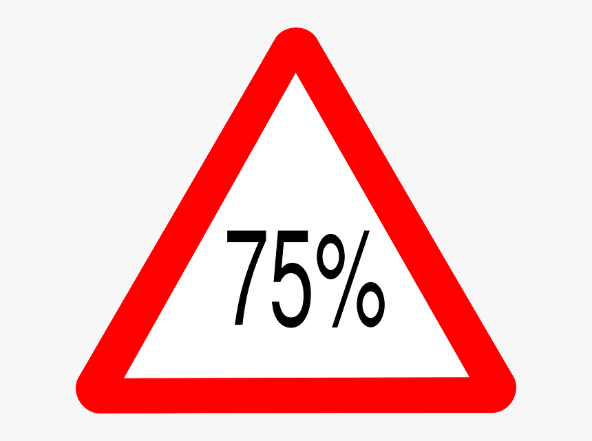 Road Sign, Street Sign, Triangle, Warning - Cycle Route Ahead Road Traffic Signs, HD Png Download, Free Download